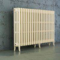 Arroll Neo-Classic 4 Column Radiator  Cream (W)1234mm (H)760mm