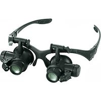 Monocular Magnifiers/Magnifier Glasses High Definition LED Generic Wide Angle Headset/Eyewear Weathe