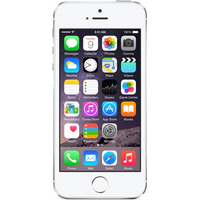 Apple iPhone 5s (32GB Silver Pre-Owned Grade C) at £100.00 on No contract £11.90 a month.