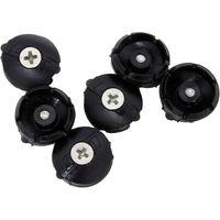 Speedplay Black Dust Caps & Grease Port Screws