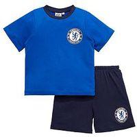 Chelsea Boys Football Pyjamas, Multi, Size Age: 9-10 Years