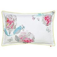 Joules Bright White Beau Bloom Housewife Pillowcase