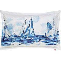Joules Sailing Boats Oxford Pillowcase