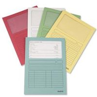Leitz Window Folder 160gsm A4 Assorted [Pack 100] - 3950-99-99