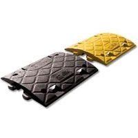 Speed Ramp 10mph Inner Section Pair PVC Reflectors Yellow Black