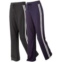 Body Star Pack Of 2 Dance Pants 32in