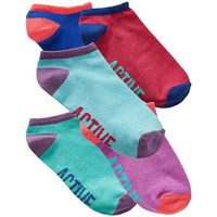 5 Pack Multi Active Trainer Socks