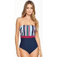 Underwired Bandeau Swimsuit