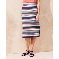 Lily & Me Stripe Midi Skirt