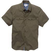 Jacamo SS Military Shirt Reg