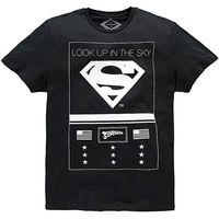 Jack & Jones Superman Black T-Shirt
