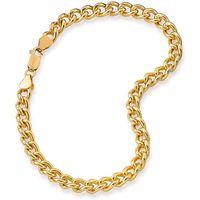 1/2OZ Rolled Gold Curb Bracelet