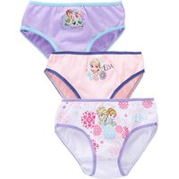 Frozen Girls Pack of Three Knickers
