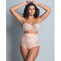 Figleaves Curve High Waisted Brief Ivory