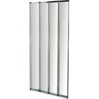 5056109102126   Aqualux Folding Shower Bath Screen Store