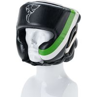 Carbon Claw Arma AX-5 Synthetic Leather Headguard with Cheek - M / L