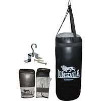 Lonsdale Punch Bag and Glove Set