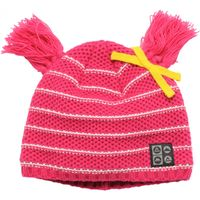 Girls Precede Beanie Electric Pink