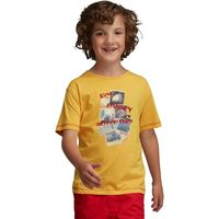 Boys Bugle T-Shirt Old Gold