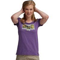 Summer Wind T-Shirt Purple Heart