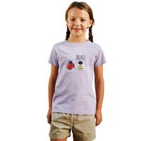 Girls Chute T-Shirt Palma Violet
