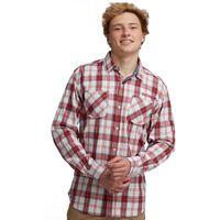 Russ Shirt Rhubarb Red