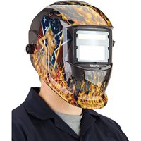 Clarke Clarke GWH5 Woman Design Arc Activated Solar Powered Grinding/Welding Headshield