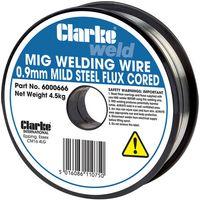 Clarke Clarke Flux Cored Welding Wire 0.9mm 4.5kg
