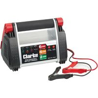Clarke Clarke HFBC12 12V, 6Amp, High Frequency Battery Charger