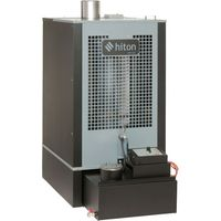 Clarke Hiton HP145 - 143,000 BTU (42kW) Waste Oil Heater w/ Flue Kit