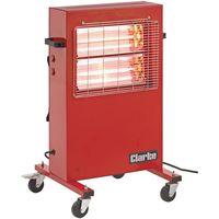110 Volt Clarke Devil 371P Quartz Halogen Infra-red Heater (110V)