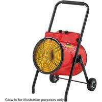 400 Volt, 3 Phase Clarke Devil 7025 22kW Industrial Electric Fan Heater