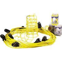 110 Volt Birchwood 22M Festoon Light Kit (110V)