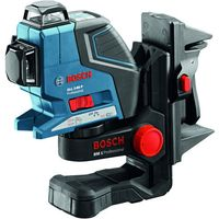 Machine Mart Xtra Bosch GLL 3-80 P Professional Line Laser, BM1 Wall Mount/Ceiling Clamp & L-BOXX