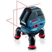 Machine Mart Xtra Bosch GLL 3-50 Professional Line Laser, Rotating Mini Tripod, BM1 Wall Mount & L-BOXX