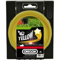 Oregon Oregon Yellow Starline Trimmer Line - 2.4mm x 15m