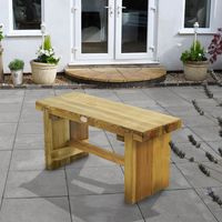 Machine Mart Xtra Forest 0.9m Double Sleeper Bench