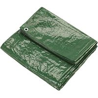 Clarke Clarke 8ft x 10ft (Approx) Green Polyethylene Tarpaulin