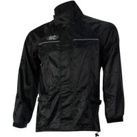 Machine Mart Xtra Oxford Rain Seal Black All Weather Over Jacket (XL)