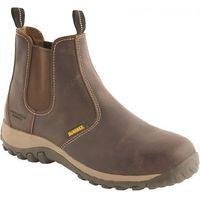 DeWalt DeWalt Radial Safety Dealer Boot Brown Size 8