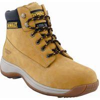 DeWalt DeWalt Apprentice Safety Boots Tan Size 10