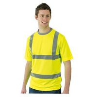 Dickies Dickies Hi-Vis Safety T-shirt - X Large