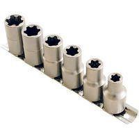 Laser Laser 5150 6 piece 1/2 drive EPL Socket Set