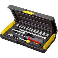 Stanley Stanley 17 Piece 1/4 Microtough Socket & Driver Set
