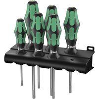 Wera Wera Kraftform 367/6 6-Piece TORX Screwdriver Set & Rack