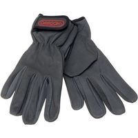 Oregon Oregon Black Leather Work Gloves (Extra Large)