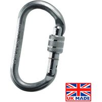 Lifting & Crane Lifting & Crane RGK-1 Screwgate Karabiner 20mm Gate Opening