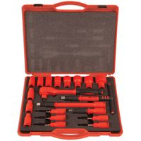 New Laser 20 Piece Insulated Socket Set 1/2 Drive