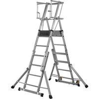 Youngman Youngman Teleguard Step 4-6 Tread Platform Ladder