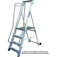 Lyte Ladders Lyte BSWP3 3 Tread Aluminium Wide Steps